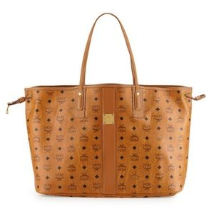 MCM Large Liz Reversible Shopper Tote Bag